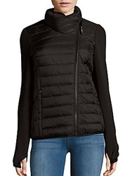 Andrew Marc New York Solid Quilted Jacket Black