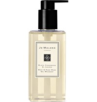 Jo Malone London Black Cedarwood And Juniper Body And Hand Wash 250Ml Colorless