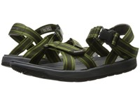 Bogs Rio Sandal Stripes Dark Green Multi Men's Sandals