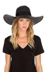 Michael Stars Made In The Shade Floppy Hat Black