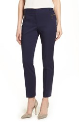 Chaus 'S Dena Zip Pocket Ankle Pants 529 Evening Navy