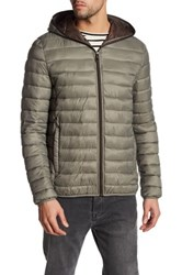 Kenneth Cole Packable Jacket Brown