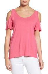 Kut From The Kloth Women's Yoselin Cold Shoulder Top