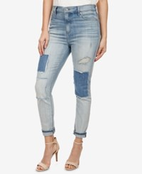 Lucky Brand Patched Skinny Jeans Homemade