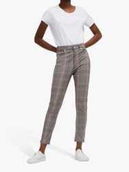 French Connection Tilly Check Skinny Jeans Multi