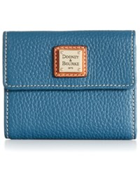 Dooney And Bourke Pebble Small Flap Wallet Jeans