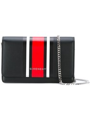 Givenchy Pandora Clutch Women Calf Leather One Size Black