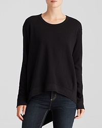 Wilt Sweatshirt Back Slant Black