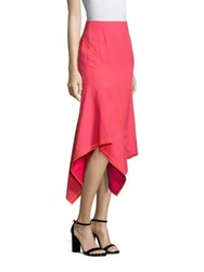 Jason Wu Wool Mesh Skirt Neon Pink