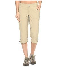Columbia Saturday Trail Ii Knee Pant British Tan Women's Capri