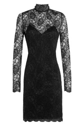 The Kooples Lace Cocktail Dress Black