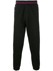 Mcq By Alexander Mcqueen Side Stripe Track Pants Black