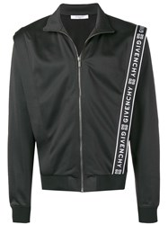 Givenchy Logo Print Jacket Black