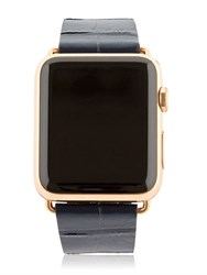 Hadoro 42Mm Rose Gold Apple Watch W 3 Band Set