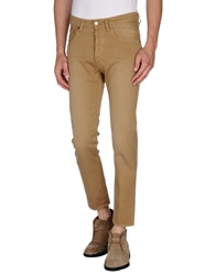 People Casual Pants Camel