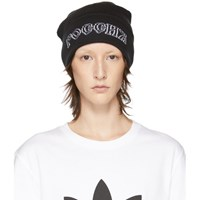 Gosha Rubchinskiy Black Adidas Originals Edition Knit Beanie