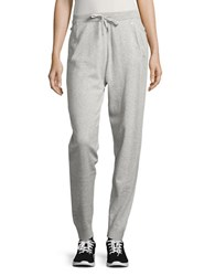 Perfect Bench Cropped Jogger Pants In Gray  Lyst