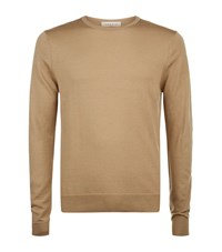 Sandro Spirit Sweater Male Camel