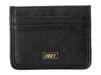 Obey Drexel Id Wallet Black Credit Card Wallet