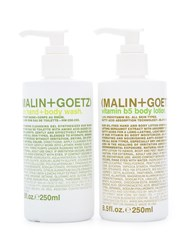 Malin Goetz Holiday Hand Wash And Lotion Set White