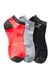 Z By Zella Nylon Sport Liner Socks Pack Of 3 Pink