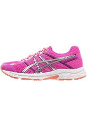Asics Gelcontend 4 Neutral Running Shoes Pink Glow Silver Black