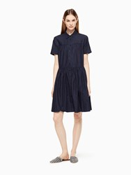 Kate Spade Chambray Swing Shirtdress