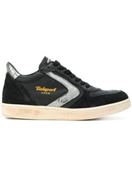 Valsport Davis 230 Sneakers Leather Suede Rubber Black