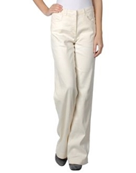 See By Chloe See By Chloe Casual Pants Ivory