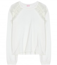 Giamba Cotton Sweater White