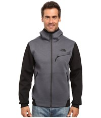 The North Face Thermal 3D Full Zip Hoodie Tnf Dark Grey Heather Men's Sweatshirt Gray