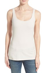 Women's Nic Zoe 'Perfect' Scoop Neck Tank Powder