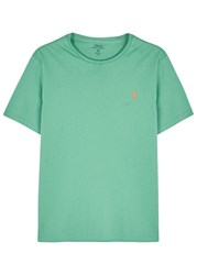 Polo Ralph Lauren Mint Custom Cotton T Shirt Light Green