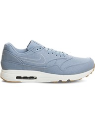 Nike Air Max 1 Ultra 2.0 Canvas Trainers Blue Grey Armory