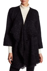 Soft Joie Knit Fringe Cardigan Black