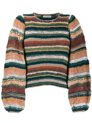 Ulla Johnson Electra Knitted Jumper Pink