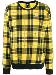 Nike Check Jumper Yellow