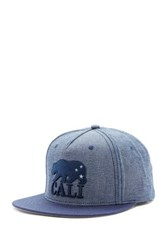 American Needle Cali Logo Hat Gray