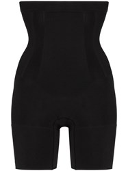Spanx Oncore High Waisted Mid Thigh Shorts Black