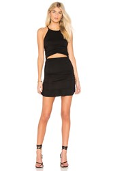 Clayton Heather Dress Black