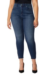 Rebel Wilson X Angels Plus Size The Vamp Crop High Waist Skinny Jeans Del Mar