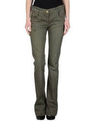 Blugirl Folies Denim Pants Military Green