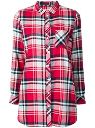 Barbour Bressay Check Shirt Red