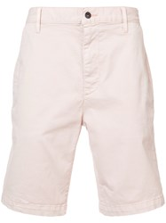 7 For All Mankind Chino Shorts Pink And Purple