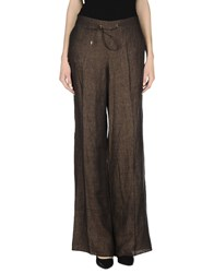 Diana Gallesi Trousers Casual Trousers Women Cocoa