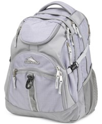 High Sierra Access Backpack In Gray Grey