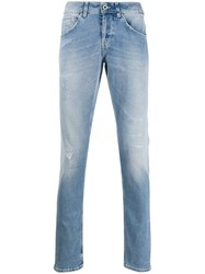 Dondup Straight Leg Distressed Jeans 60