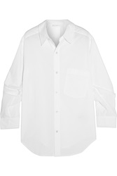 Donna Karan Oversized Cotton Shirt White