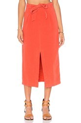 Free People Easy Breezy Skirt Red