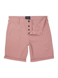 Criminal Men's Cotton Chino Shorts Pink